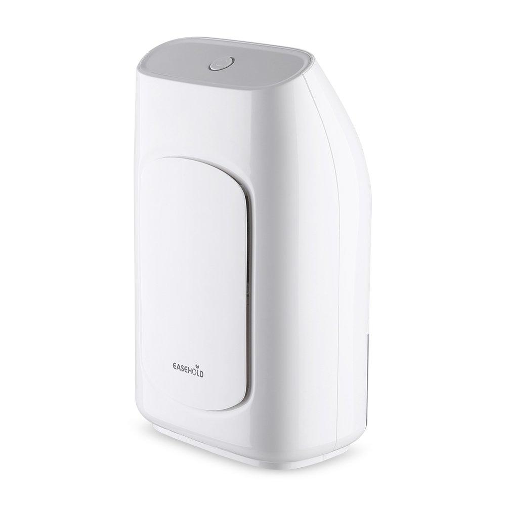 EASEHOLD Dehumidifier 700ML Portable Mini Air Dehumidifier, Whisper Quiet, Auto Shut Off, for Home, Kids Room, Kitchen, Wardrobe, Bathroom, Basement, Office Optional
