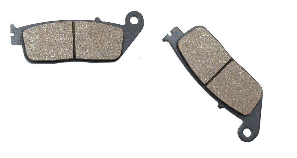 Semi-Met Pads De Zapatas De Frenos for Street Bike SH125 SH 125 CC 125cc i 2 Piston Caliper 14 15 2014 2015 4 Pads CNBK