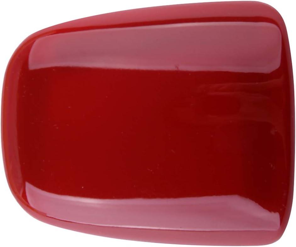 rot ABS-Schaltknauf Dekorabdeckung L/ünette passend f/ür Dodge Challenger//Charger 2015-2019