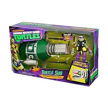 TMNT Tortugas Ninja 14094007 - Submarino Sub con Donatello ...