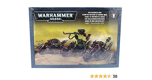 GW50-07 Ork Warbiker Mob
