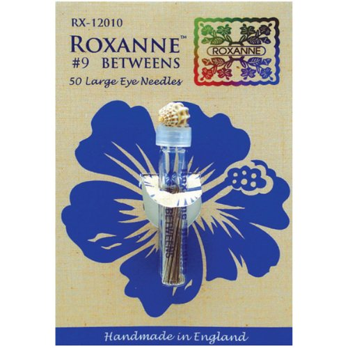 2 X Roxanne #9 Betweens Large Eye Hand Quilting needles 50pk (Roxanne Needles Quilting)