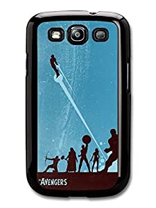 Avengers Superheroes Comic Illustration case for Samsung Galaxy S3 A303