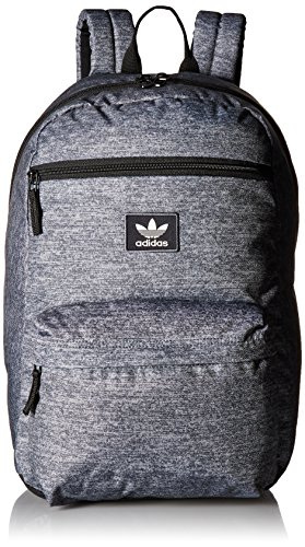 adidas Originals National Padded Backpack, Jersey Onix/Scarlet/White/Blue, One Size by adidas Originals