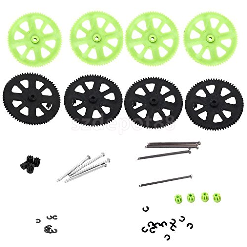 2x Motor Pinion Gears Shaft Sets for Parrot AR Drone 2.0 Quadcopter Supply by uptogethertek