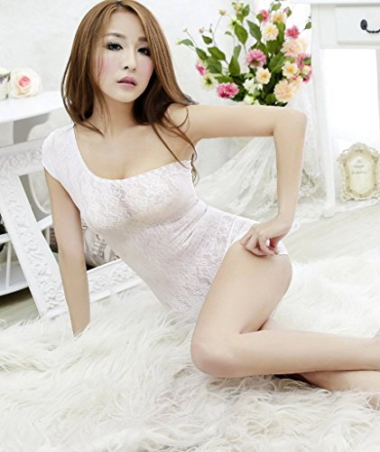 White Z Women Pajama Underwear Perspective Bodystocking Crotchless Xiang Ru Lingerie aSqn8z