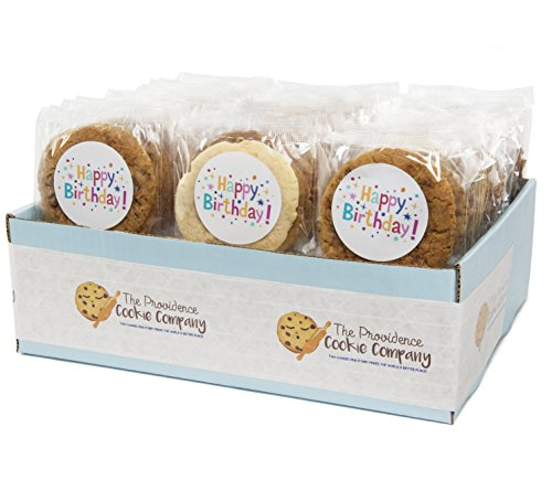 The Providence Cookie Company HAPPY BIRTHDAY GOURMET COOKIE GIFT choose 1, 2, 3 or 4 Dozen (1 - Happy Cookie Bouquet Birthday