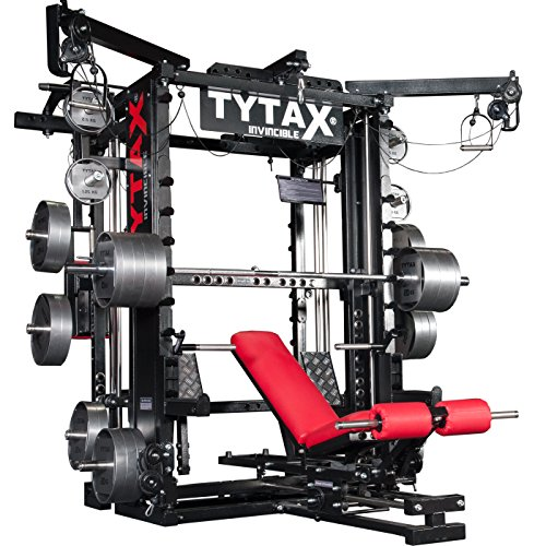 TYTAX T1-X ULTIMATE HOME MULTI GYM MACHINE FITNESS EQUIPMENT BEST FREE WEIGHT PRO WORKOUT EXERCISE BENCH TYTAX®