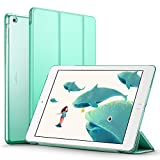 iPad Air Case, ESR Smart Case Cover [Synthetic Leather] Translucent Frosted Back Magnetic Cover with Auto Sleep/Wake Function [Light Weight] for iPad 5 (Mint Green)