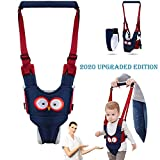 Autbye Baby Walker Toddler Walking Assistant Handheld Stand Up and Walking Learning Leash Kids Safety Walking Harness Safety Belt for Baby 6-36 Months (Thickened Cotton Type)