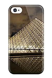 Ideal CaseyKBrown Case Cover For Iphone 4/4s(louvre Museum Paris), Protective Stylish Case