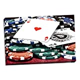 Poker Hand I, Fine Art Photograph By: C. Thomas McNemar; One 36x24in Hand-Stretched Canvas