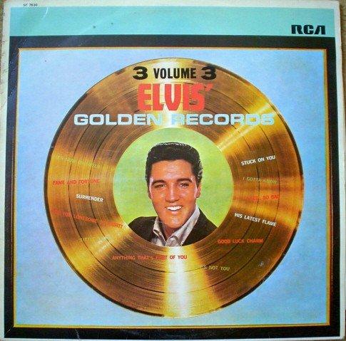 Elvis' Golden Records,Vol. 4 (Elvis Golden Records Vol 4)