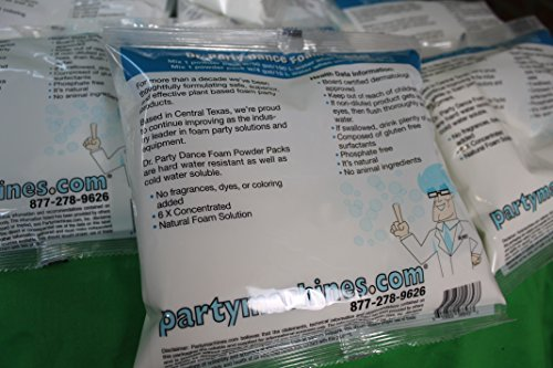 Partymachines Dr. Party Foam Powder Pack of 10 by Partymachines