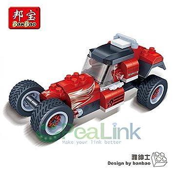Amazon.com: BanBao 8619 modelos de coches de carreras 105 ...