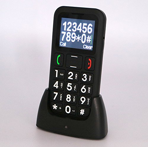 Loud Cell Phone (HKSUNKIN QUAD Band GSM Mobile CELL Phone for Senior Elder BIG KEY BIG FONT LOUD RING UNLOCKED)