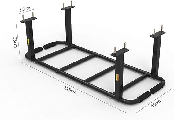 Barra de tracción Barras horizontales Escalera De Ascenso Pull-ups Costillas Torre De Energía Pie Gimnasio En Casa Peso 400 Kg Barras de dominadas (Color : Black, Size : 119 * 45 * 35cm): Amazon.es: Hogar