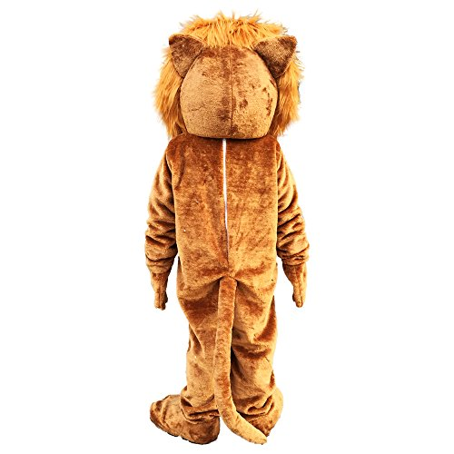 Lion Mascot Costume Cartoon Character Adult Sz Langteng(TM) by Langteng (Image #4)