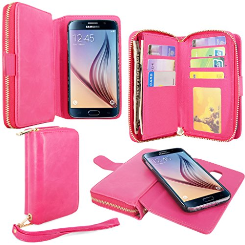 Cellularvilla Leather Magnetic Detachable Samsung
