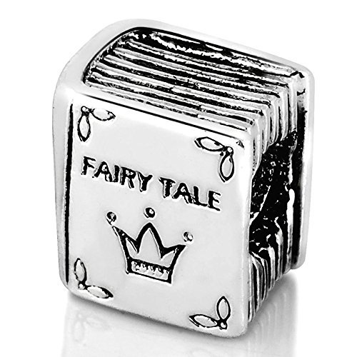Fairy Tale Book Study Charm Beads Fits Pandora Charms