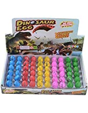 60 PCS Magic Growing Dinosaur EggS Add Water Child Gift Hatching Inflatable toy 60 pcs as a set