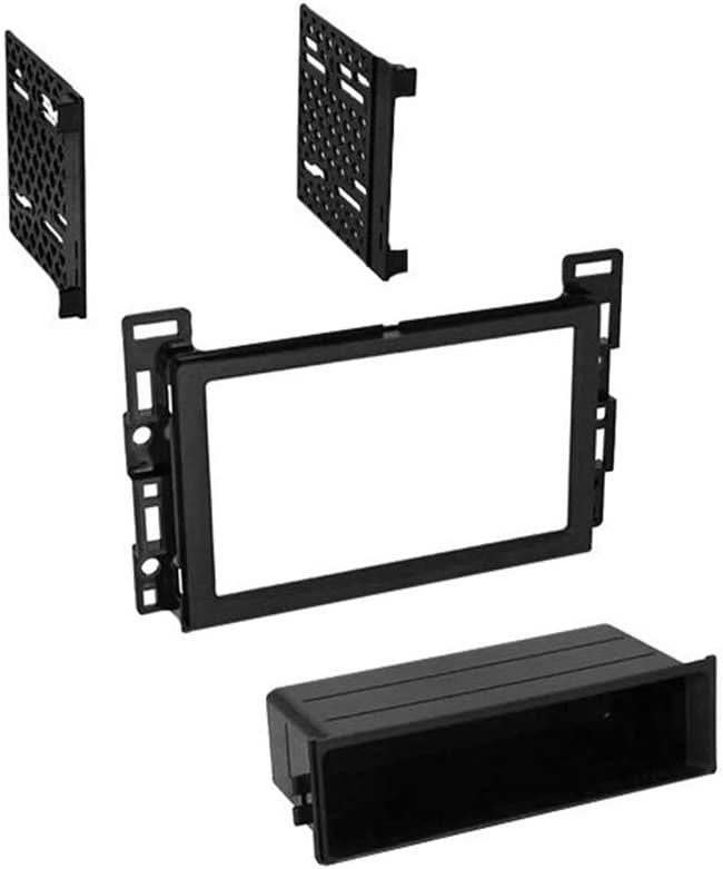 in Dash Kit Harness CACH/É KIT966 Bundle with Car Stereo Installation Kit for 2005 2006 Chevrolet Equinox 4 Item Antenna Adapter for Single or Double Din Radio Receivers