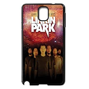 Fashion Festival Gifts M-03 Music Band linkin Park Black Print With Hard Shell Case for Samsung Galaxy Note 3