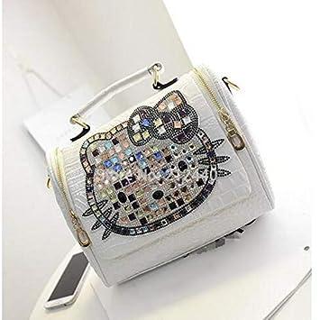 6d48904971 Amazon.com  Female luxury women crocodile leather hello kitty bag handbags  messenger shoulder bags tote  Beauty