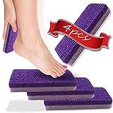 Pumice Stone Dead Skin Remover NaturalPumice StoneFoot File Pedicure ToolsExfoliating Foot Health Care (4pcs)