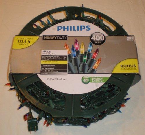 Philips Heavy Duty Christmas Lights 400 Bulbs