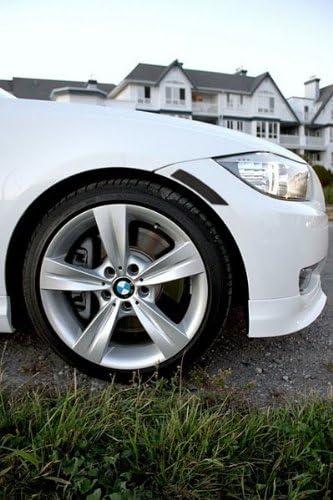 Crystal Smoke 323i 325i 328i 335i 335d Front Bumper Reflectors PROMOTORING For 09-11 BMW E90//E91 LCI 3-Series 4DR Sedan//Wagon 2009 2010 2011