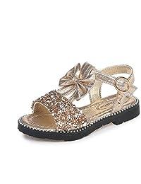 MINIKATA Summer Style Children's Sandals Girls Princess Beautiful Flower Shoes