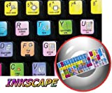 NEW INKSCAPE KEYBOARD STICKER FOR NOTEBOOK, DESKTOP AND LAPTOP
