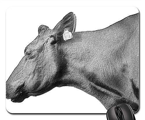 Mouse Pads - Sketch Animal Bull Symbol Cartoon