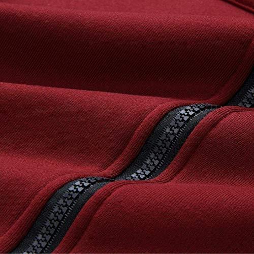 Bouffant Costume Fashion Capuche Rouge Dsinvolte Uni Longues Longues Grande Automne Taille A De Manches avec Manteau Veste Manche Femme Jacket Serrage Hiver Elgante Cordon Outwear 7t5xTnSwq