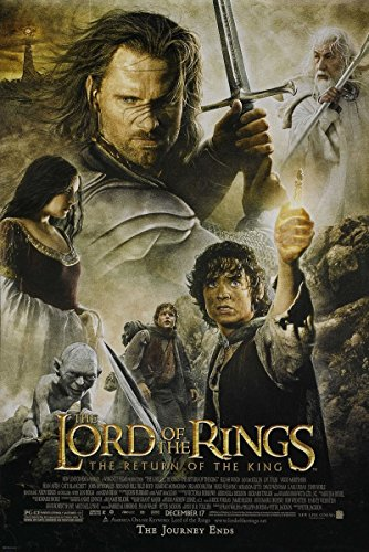 The Lord of the Rings: The Return of the King 2003 DSS Rolled Movie Poster 27x40 (Lord Of The Rings Trilogy In Theaters)