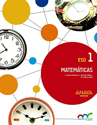 Matemáticas 1. (Aprender es crecer en conexión) - 9788467852349