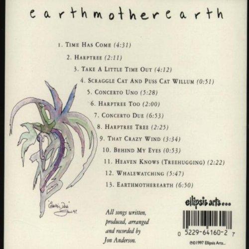 Earthmotherearth Anderson Jon Anderson Jon Musik