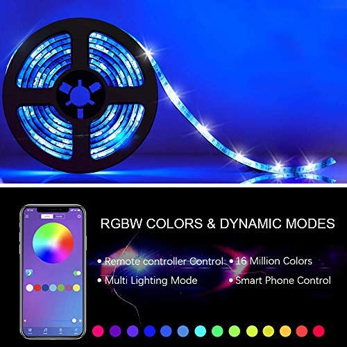 Weird Tails Music Sync LED Lights with Bluetooth
