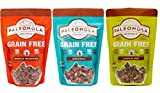 Paleonola Grain Free Gluten Free Granola 3 Flavor Variety Bundle: (1) Paleonola Original Granola, (1) Paleonola Apple Pie Granola, and (1) Paleonola Maple Pancake Granola, 10 Oz. Ea. (3 Bags Total) For Sale