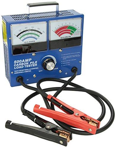 FJC 45115 500 Amp Carbon Pile Battery Tester (500 Amp Carbon Pile Load)