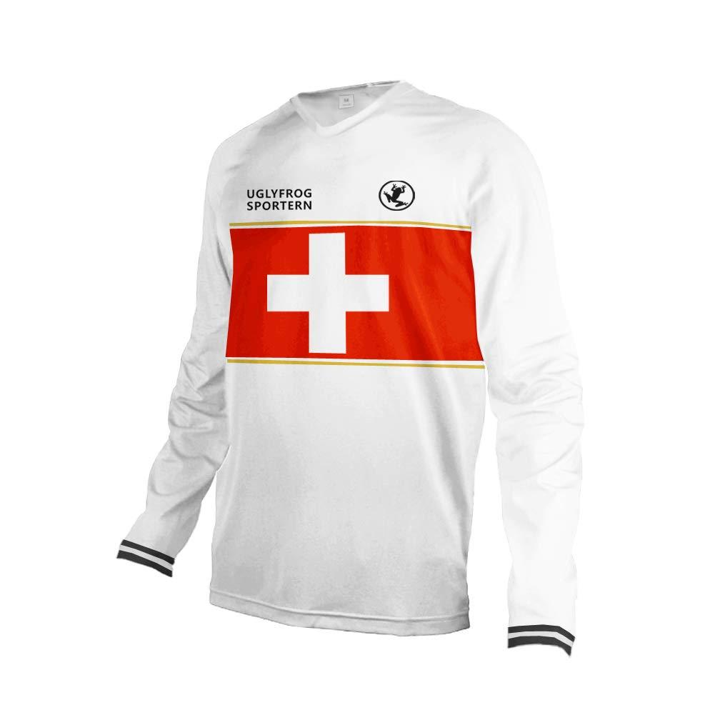 Uglyfrog MT30 Designs Herren Motorsport Motorrad Moto Cycling Racing Racer T-Shirt