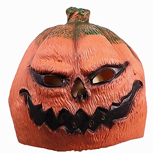 WuHu Ren Store Halloween Pumkins Mask, Vintage Decoration Festival Party Mask, Halloween Masquerade Mask ... -