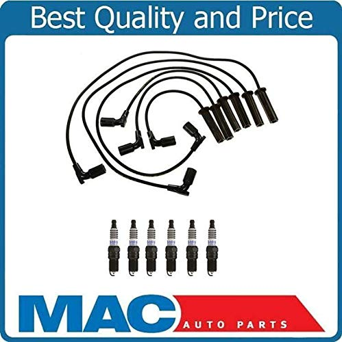 Ignition Wires and Spark Plug Compatible With Saturn Vue 3.5L 2008-2009