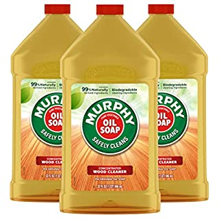 Murphy's Oil Soap Wood Cleaner and Polish for Wood Floors and Furniture, Original - 32 fluid ounce (3 Pack)