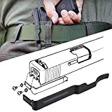 Concealable Gun Clip for Glock Concealed Carry, Low