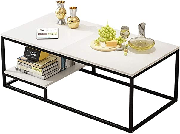 Zyl White Table Tea Table Tea Table Tea Table Nordic Minimalist