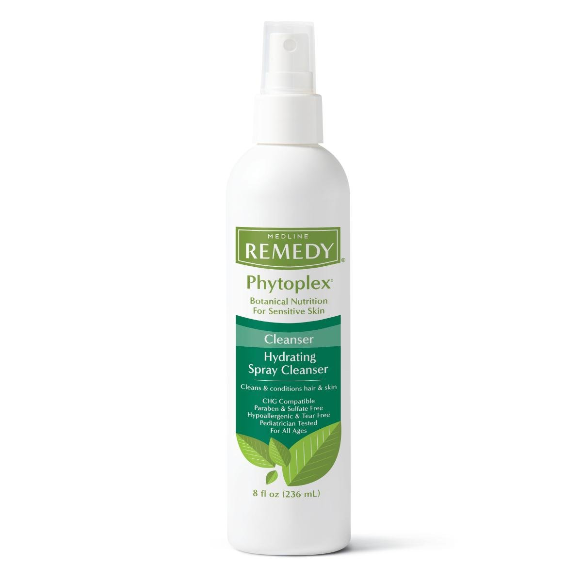 Medline MSC092208 Remedy Phytoplex No-Rinse Hydrating Spray Cleanser, 8 oz (Pack of 12) by Medline