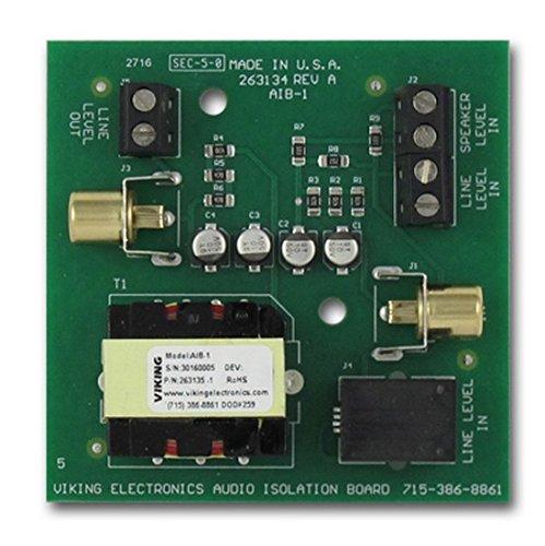 - Viking Electronics Audio Isolation Board (AIB-1)