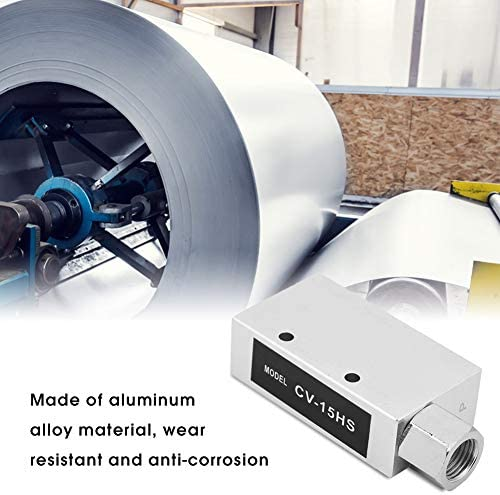 CV-15HS Vacuum Generator Pneumatic Exhaust Air Ejector with Silencer